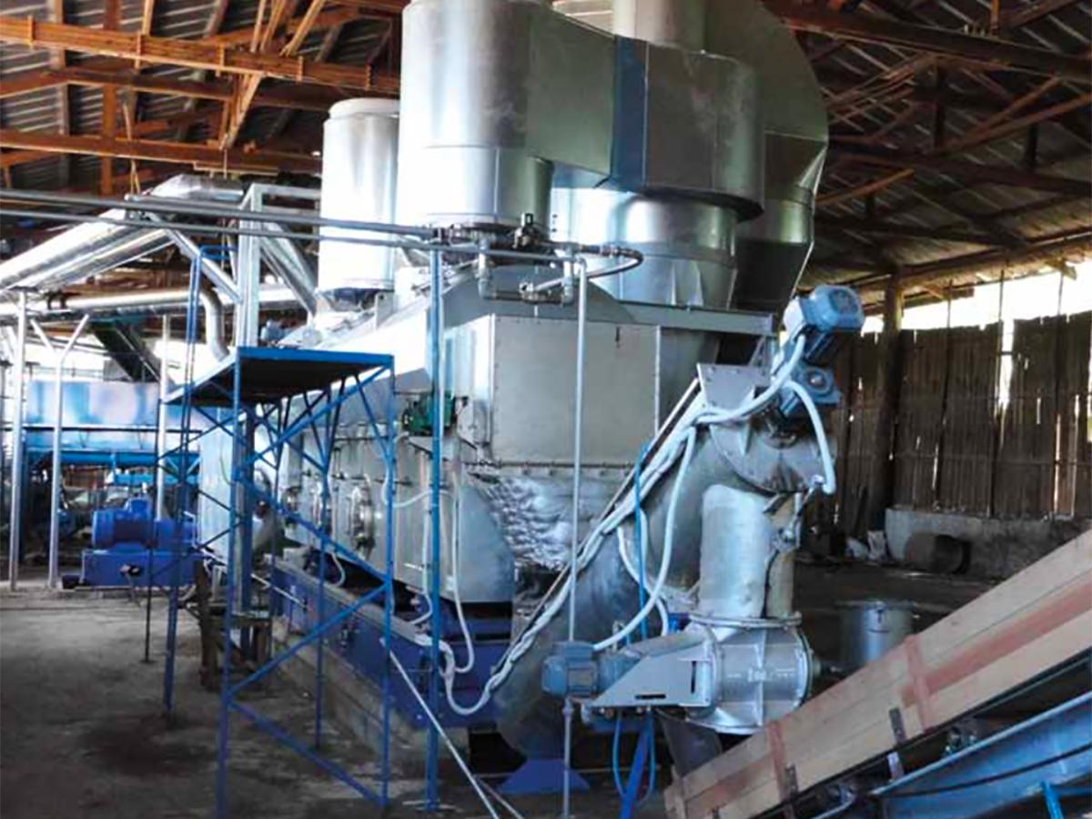 Biomass Fluid Bed Dryer